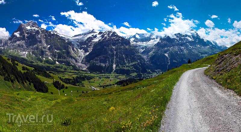 Путь на Фирст / Швейцария