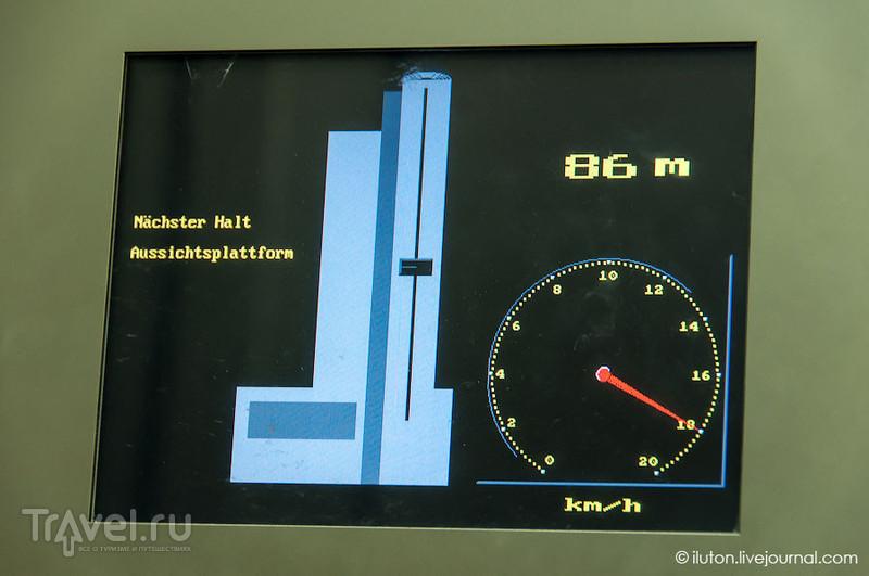 Скорость лифта / Германия