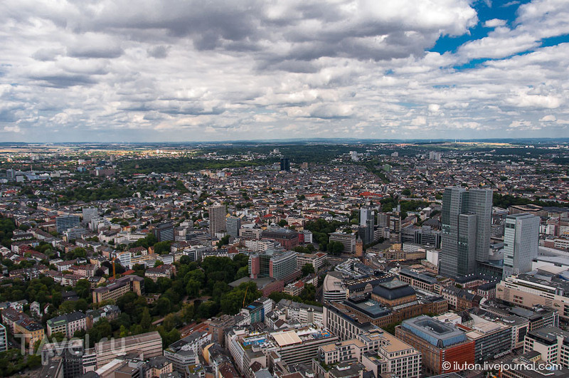 Вид со смотровой площадки / Германия