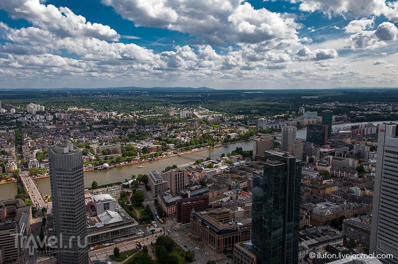 Вид на реку Майн / Германия
