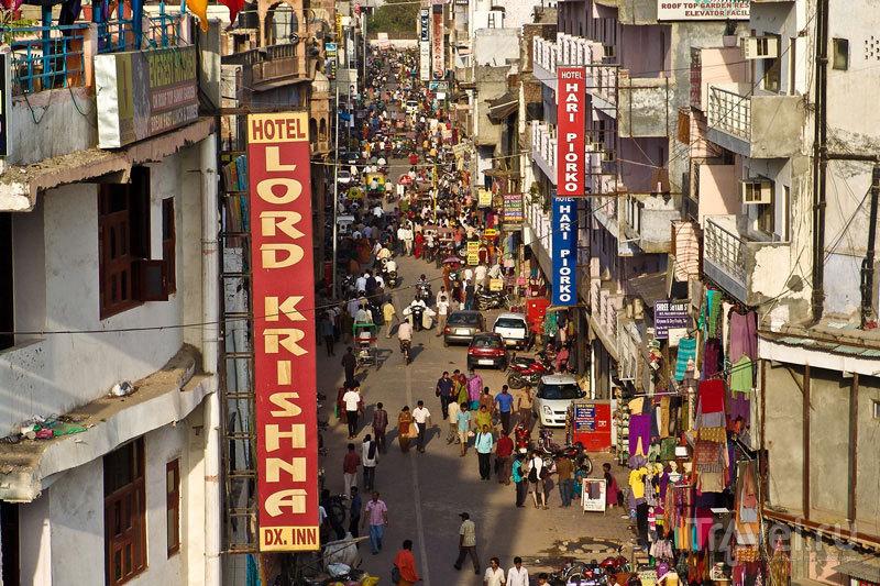 На улицах Дели / Индия