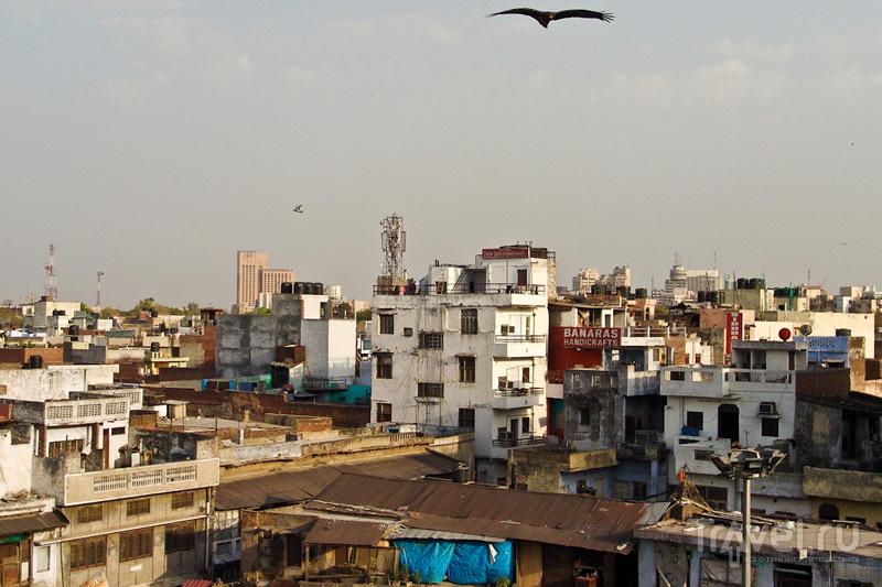 Полет над Дели / Индия