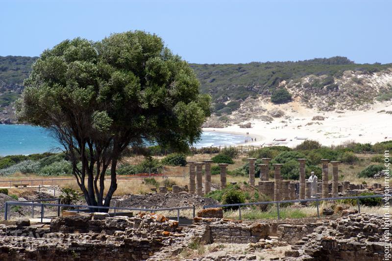 Раскопки древнеримского города / Испания