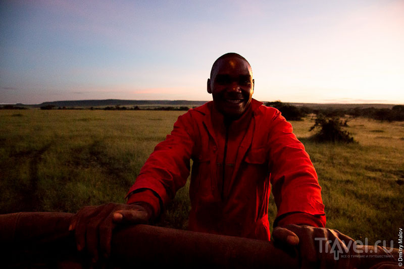 Сотрудник национального парка Масаи-Мара, Кения / Фото из Кении