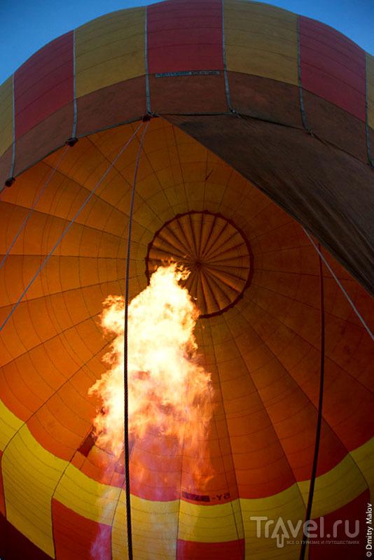 Воздушный шар над национальным парком Масаи-Мара, Кения / Фото из Кении