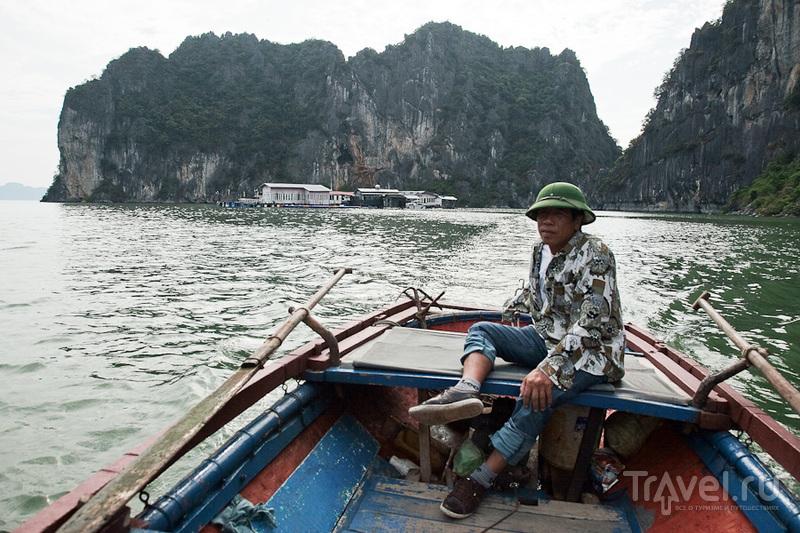 Портрет лодочника / Вьетнам