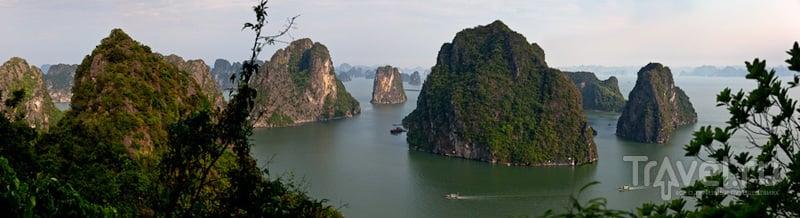 Бухта перед закатом / Вьетнам