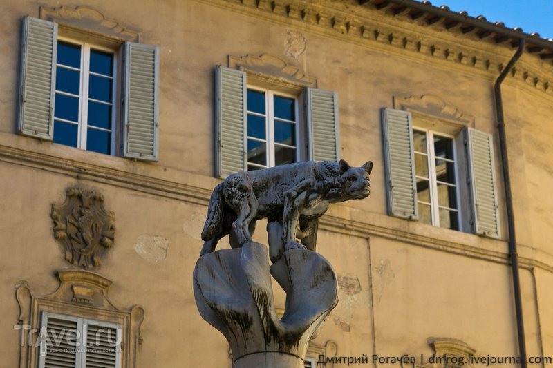 Волк смотрит свысока / Италия