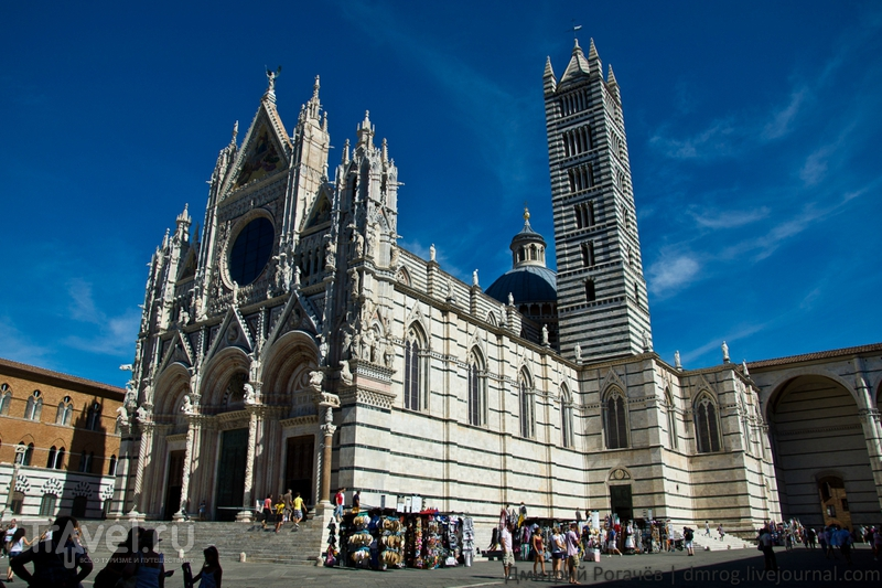 Здание Сиенского собора / Италия
