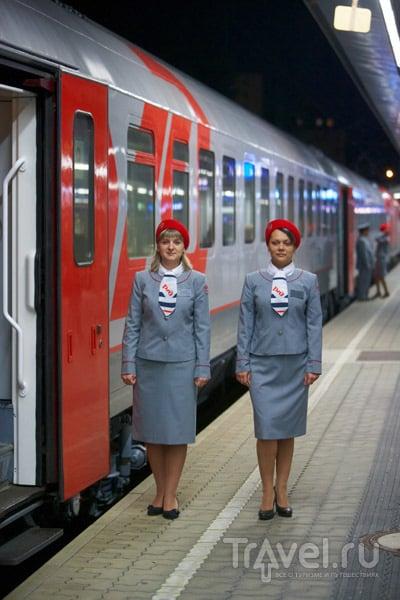 Поезд Москва-Ницца готов к отправлению / Франция