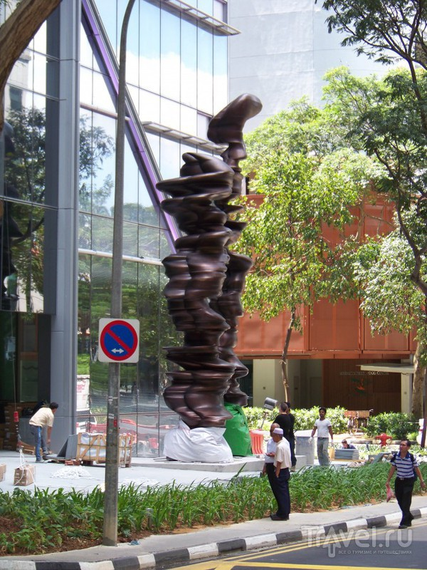 Уличная сульптура / Сингапур