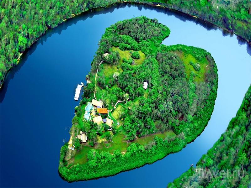В форме сердца австралия австралия