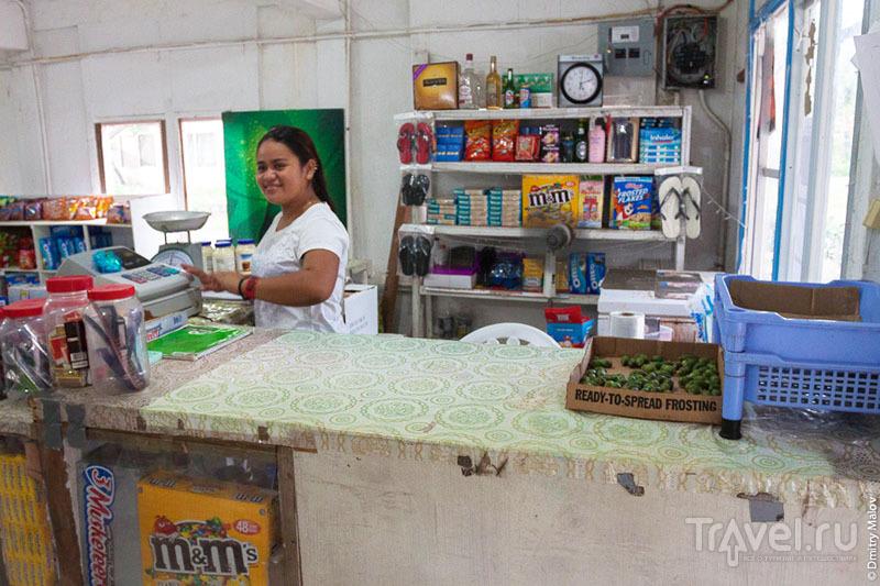 Магазин на острове Косрае, Микронезия / Фото из Микронезии