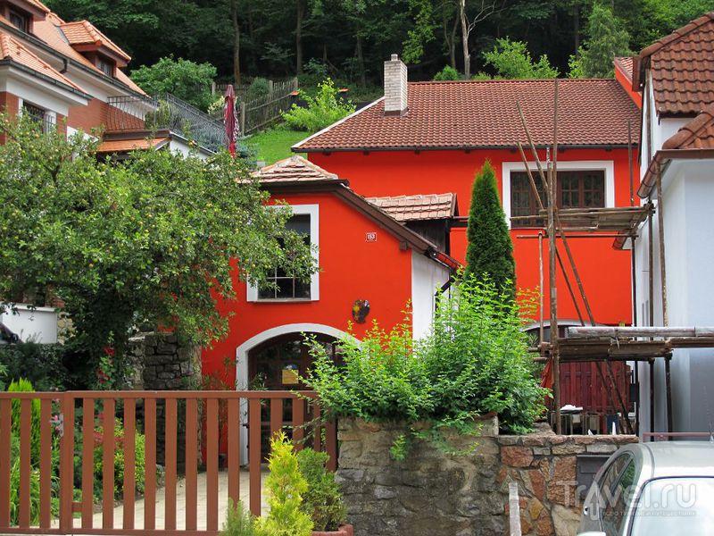 Очень симпатичные домики / Чехия