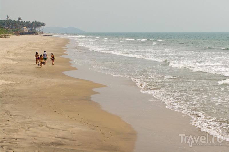 Прогулка по пляжу / Индия