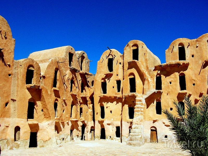 """Ксар-Улад-Султан, где снимали один из эпизодов фильма """"Звездные войны"""" / Тунис"""