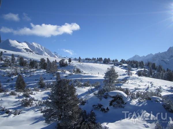 Вид со склона / Австрия
