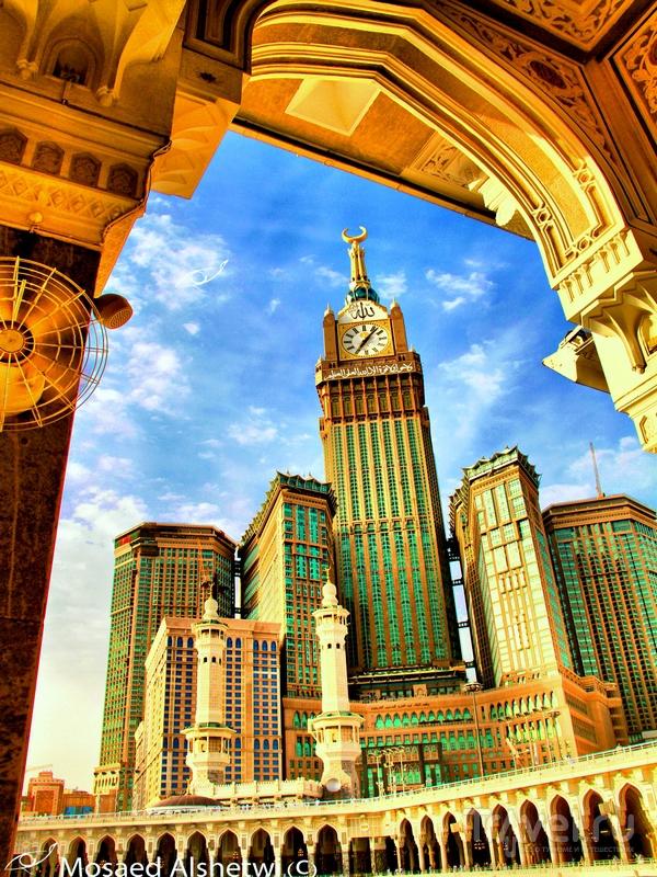 Жилой комплекс Makkah Clock Royal Tower в Саудовской Аравии / Саудовская Аравия