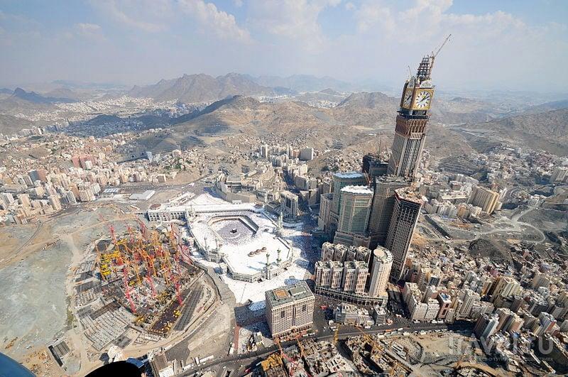 Строительство комплекса Абрадж аль-Бейт / Саудовская Аравия