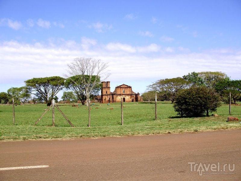 Церковь в Сан-Мигель-дас-Миссоес / Аргентина