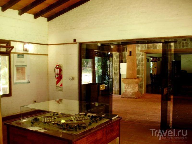 В музейчике Санта-Аны / Аргентина