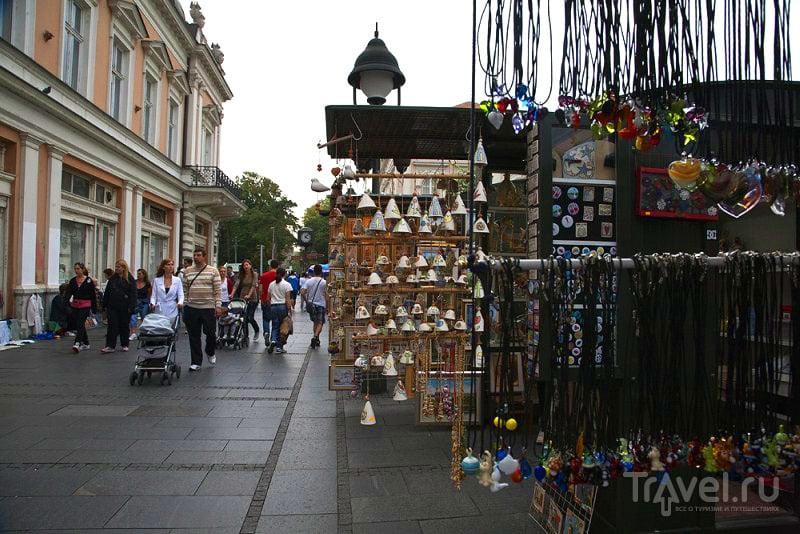 Пешеходная улица в Белграде, Сербия / Фото из Черногории