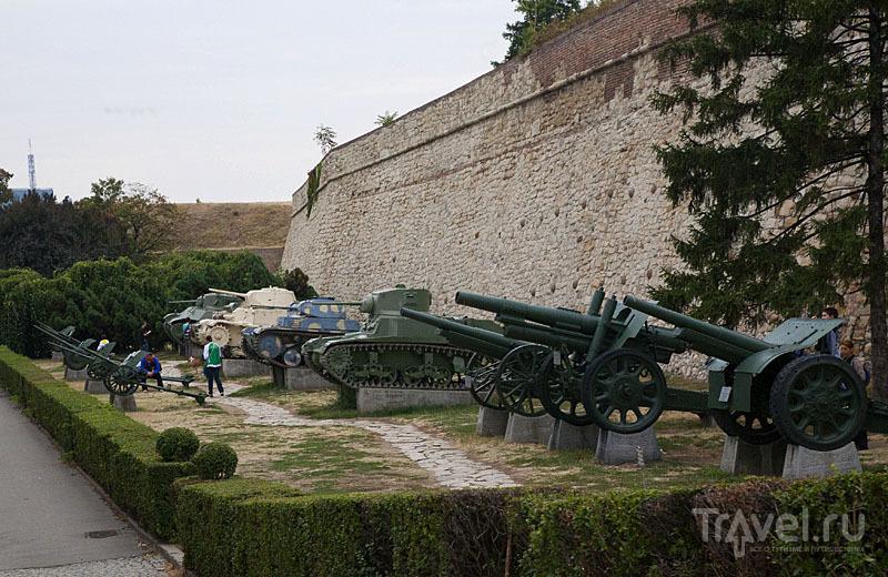 Руины крепости на холме в Белграде, Сербия / Фото из Черногории