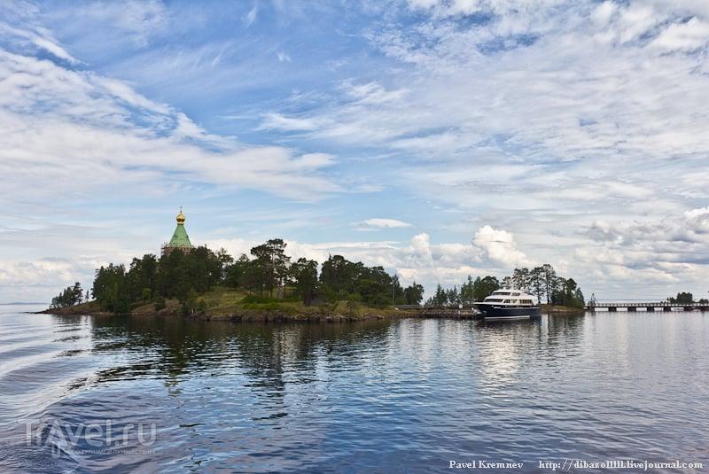 Природа, Ладога, храм, яхта Паллада / Россия
