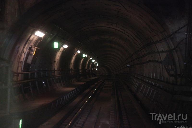 Въезд в туннель / Дания