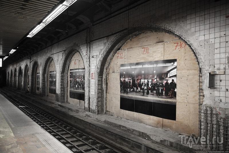 Реконструкция стен станции / Дания