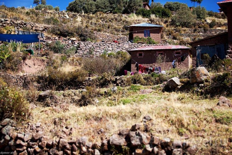 Переходы выложены камнями / Перу