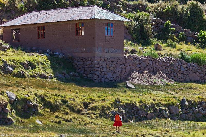 Девочка там и была / Перу