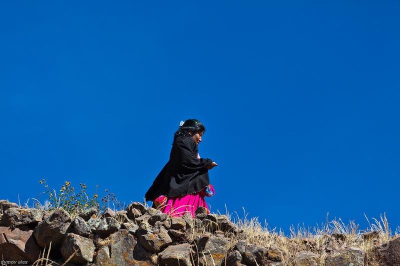 Платки на плечах / Перу