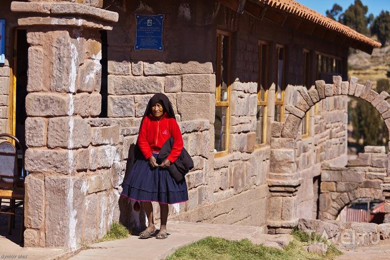 Своеобразная комбинация одежды / Перу