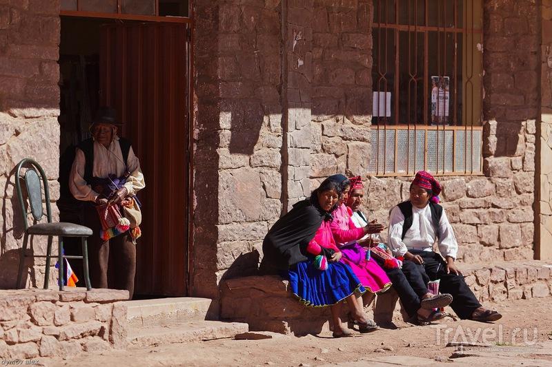 На завалинке / Перу
