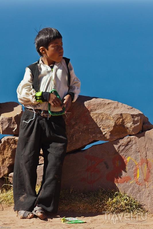 Вязание - важнейший из навыков / Перу