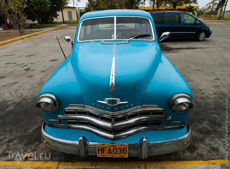 Голубой Plymouth / Куба