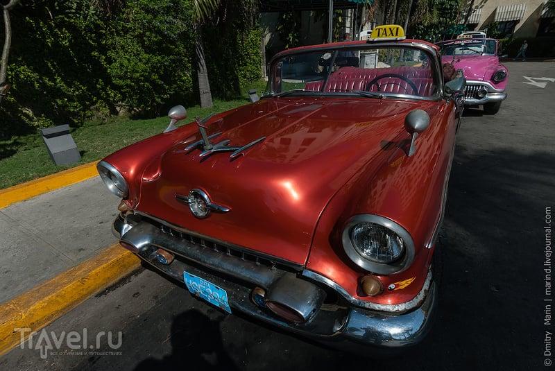 Такси у отеля Nacional de Cuba / Куба