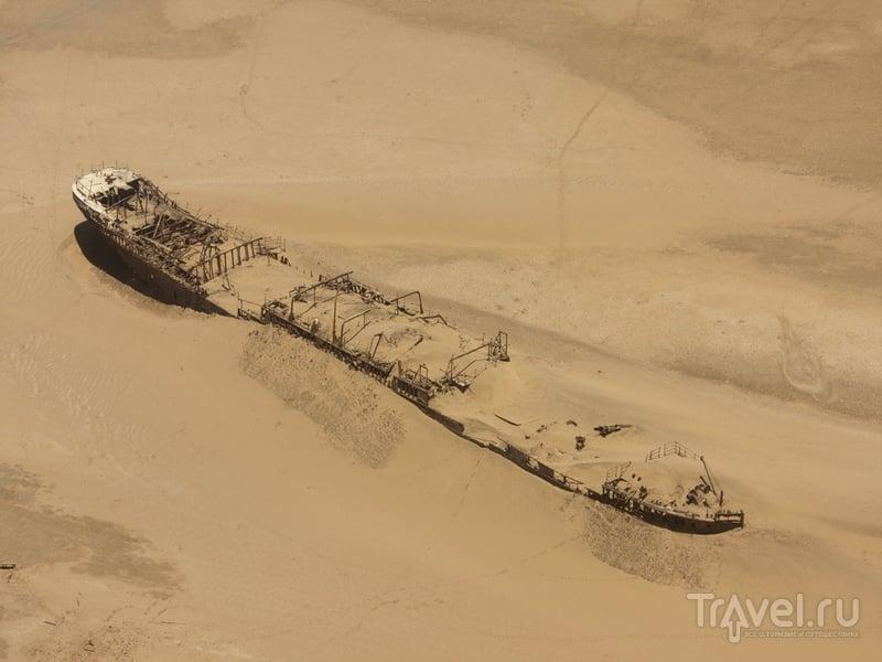 Занесенное песком судно Eduard Bohlen, Намибия / Намибия