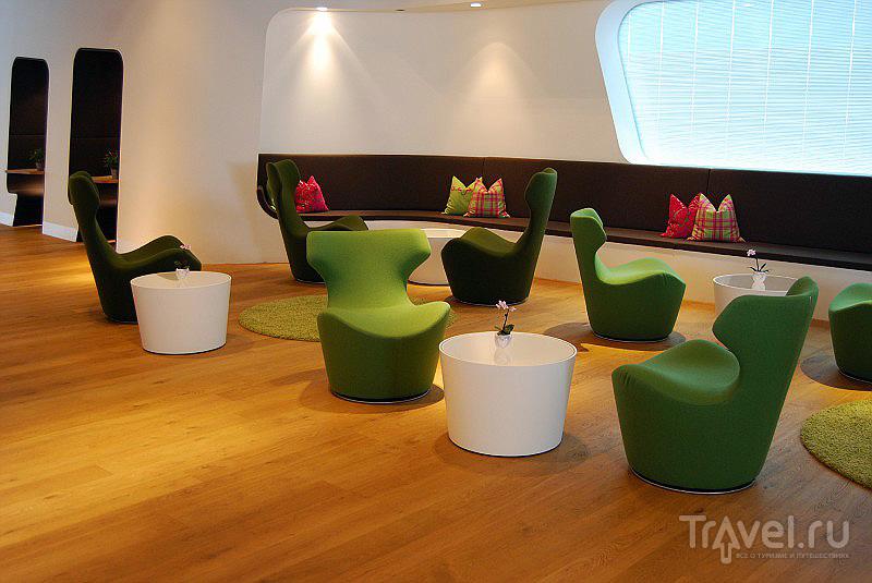 VIP-лаундж в терминале 1 мюнхенского аэропорта, Германия / Фото из Германии