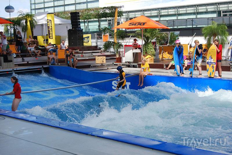Серфинг в аэропорту Мюнхена, Германия / Фото из Германии