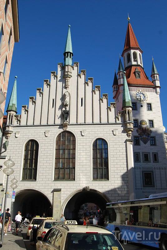 Старая ратуша в Мюнхене, Германия / Фото из Германии