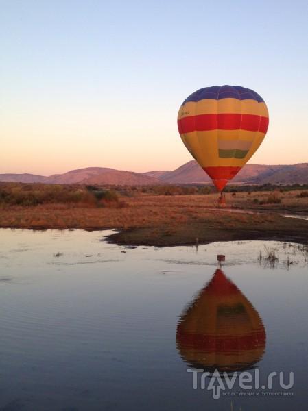 Шар над водой / ЮАР