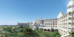 Отель выглядит, как дворец. // riu.com