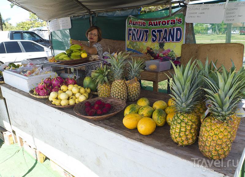 Продажа свежих фруктов / США