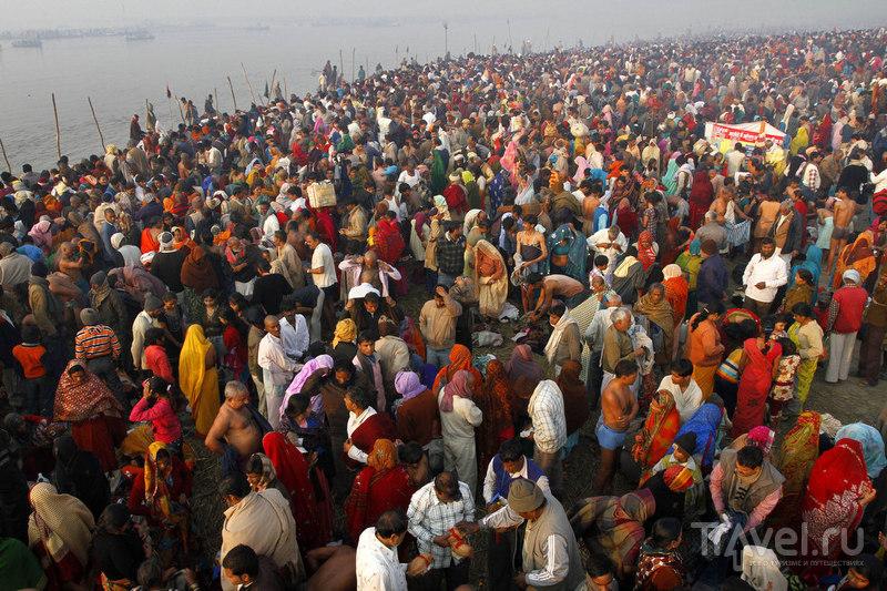 Во время фестиваля Басант Панчами / Индия