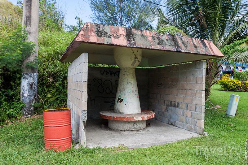 Остановка на Гуаме / Фото с Гуама