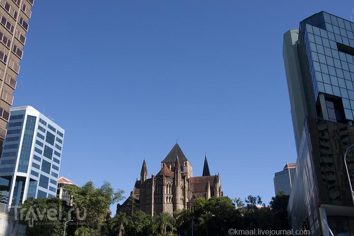В центре Брисбена / Австралия