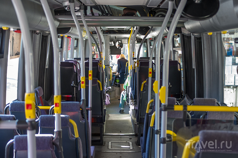 Совершенно пустой автобус / Швеция