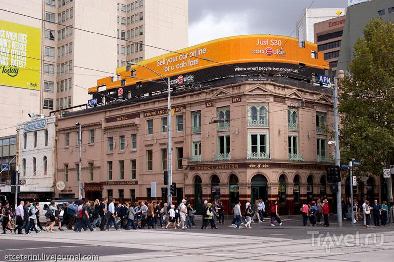 """Отель """"Янг и Джексон"""" в Мельбурне / Фото из Австралии"""